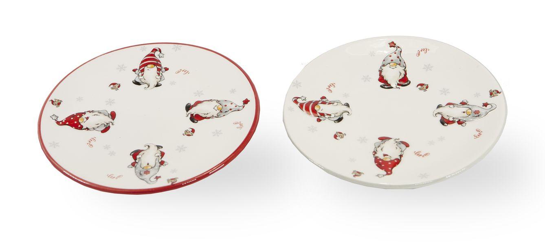 talíř d17cm, SKŘÍTEK, 2druhy, dezertní, keramika