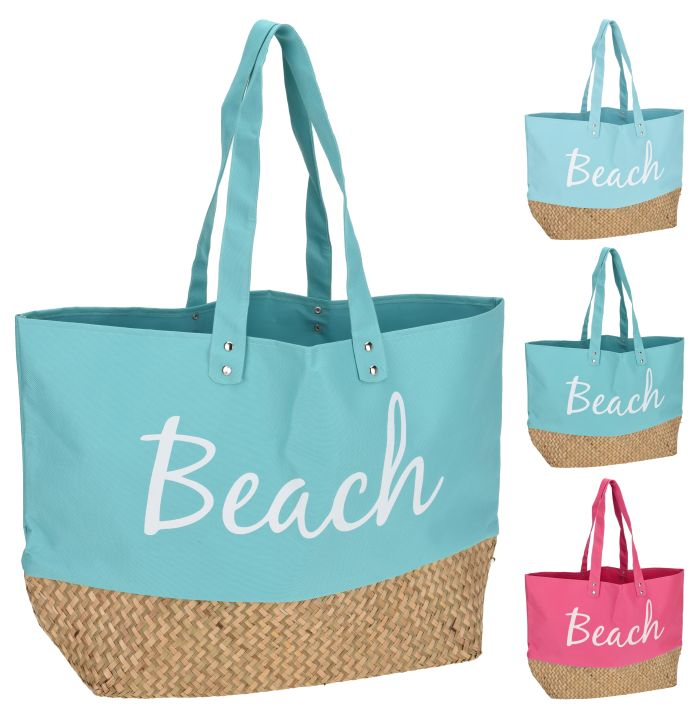 taška nákupní 57,5x37x17cm, plážová