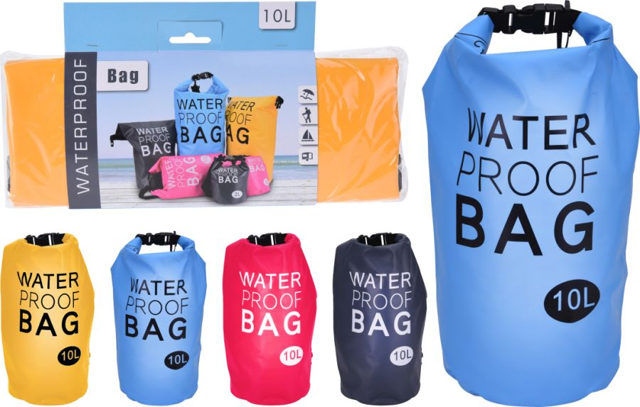pytel-taška 10,0l voděodolný,sportovní,4barvy