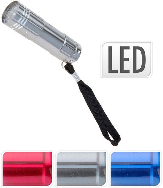 svítilna 8,5cm 9LED, 3barvy