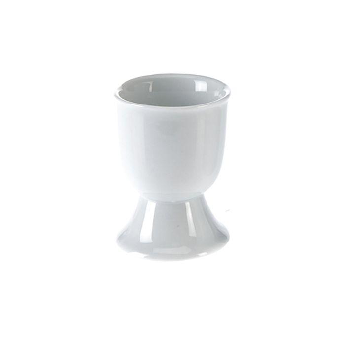 kalíšek na vejce 1ks superbílý porcelán