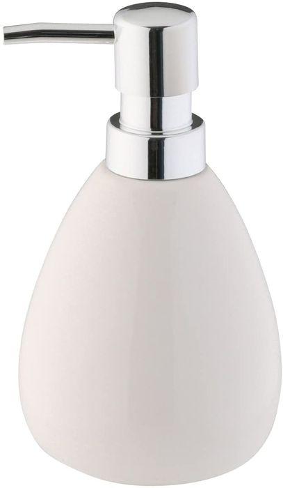 dávkovač 0,37l mýdla KERAM.bílý, d9x16,5cm