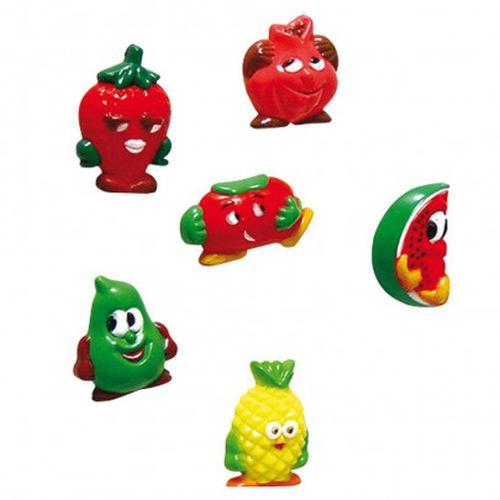 magnety 6ks ovoce+zelenina