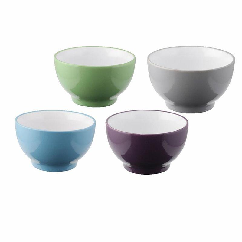 miska 500ml, d14cm, 4barvy, porcelán