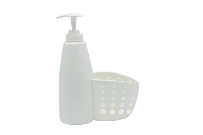 dávkovač 0,45l mýdla s košíkem, plast