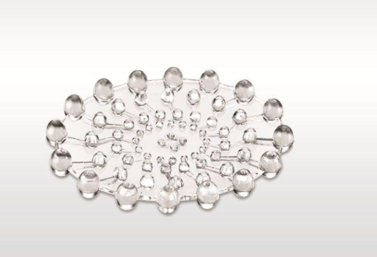 podložka transparentní pod mýdlo