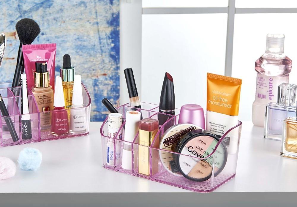 organizér na kosmetiku, trans.plast