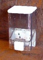dávkovač 1,0 l čirý VIALLI tekut.mýdla