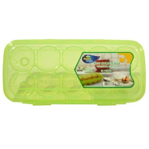 box 10ks vajec uzav.27x12x7,5cm,transp.plast
