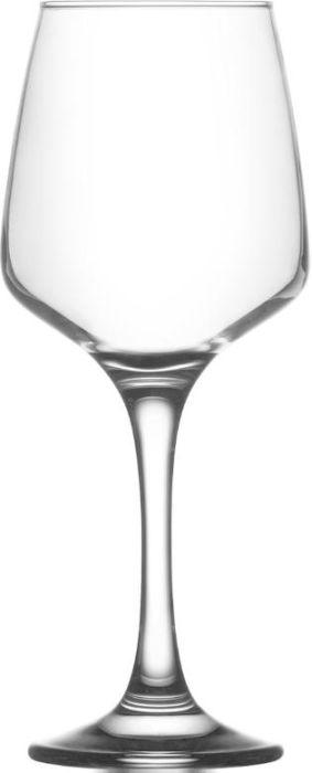 sklen. 295ml, 6ks, LAL,v.19cm , bílé víno na stopce (FAN)