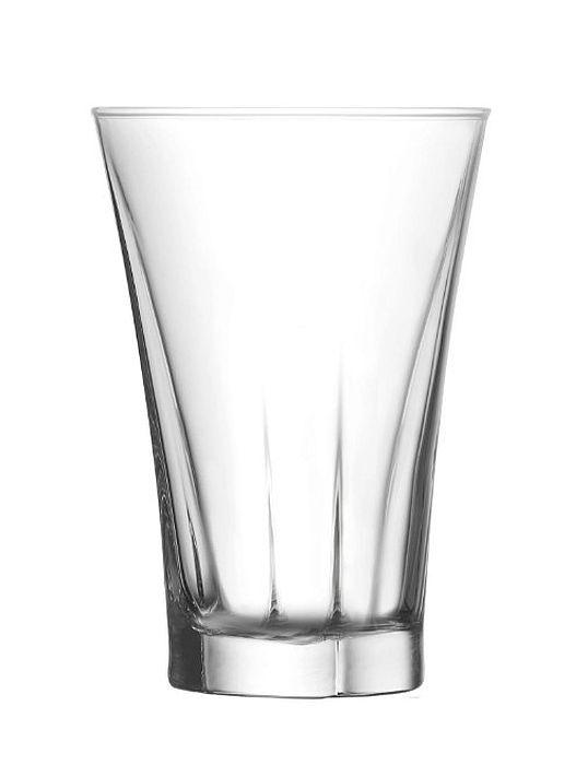 sklen. 350ml, 6ks, TRUVA v.13,1cm - long dr.