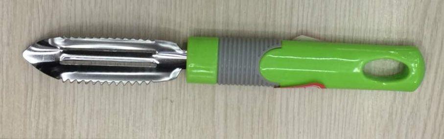 škrabka 20cm (8cm oboustr.ostří) na bram.plast