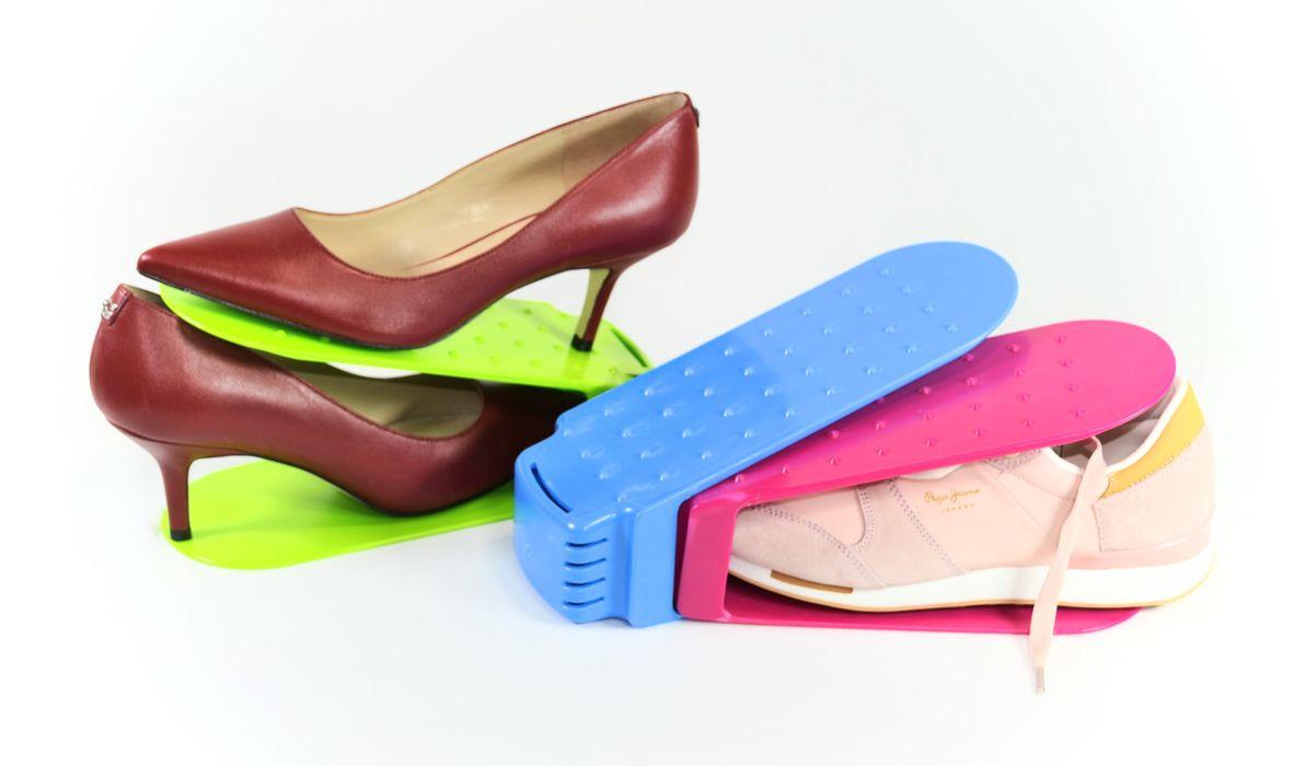 stohovač obuvi 26x10cm, v.12cm, MIX barev, plast