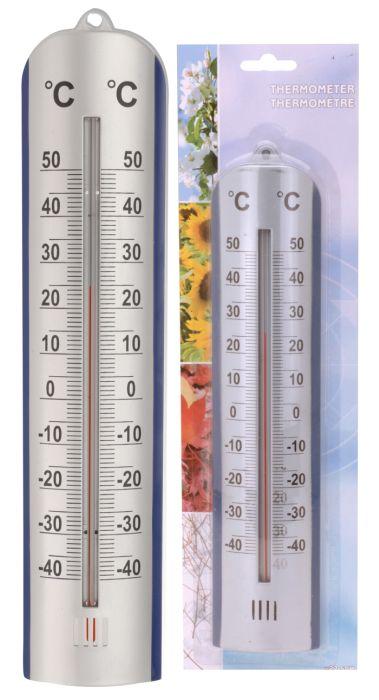 teploměr univ. 27,5cm, -40°C+50°C, plast