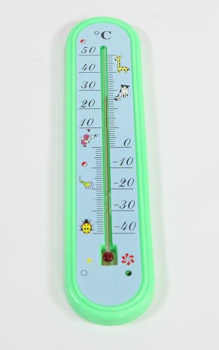 teploměr 24,5x5,5cm univ.  -40°C +50°C, dětský, plast