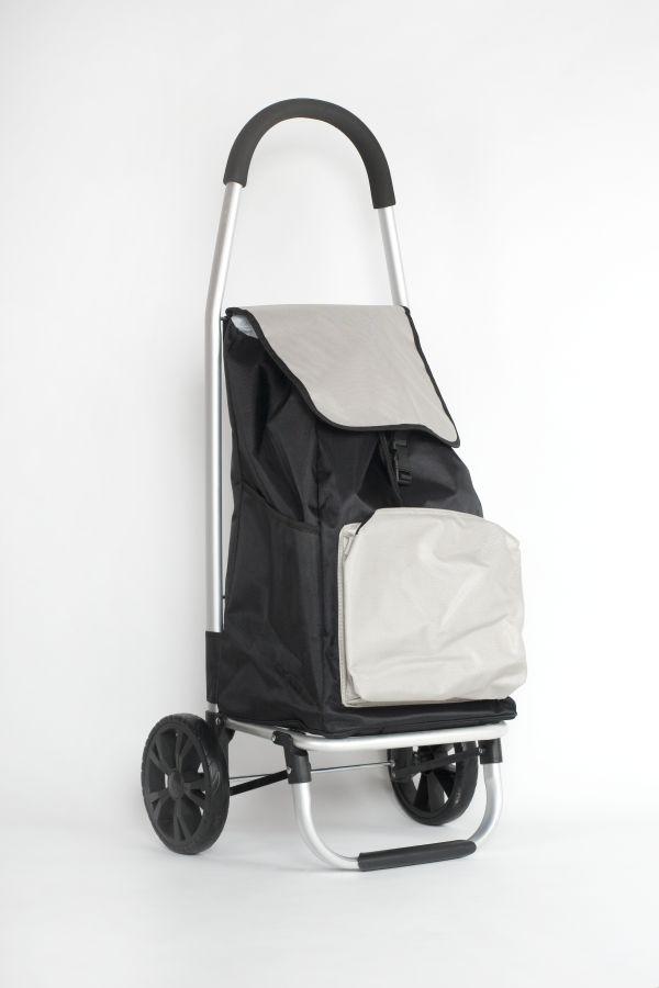 taška 45l s kolečky,  LUX s termokapsou (25kg), kov.rám