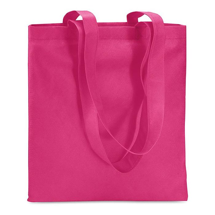 taška nákup. 12l, 40x30x10cm, MIX barev, netk.textil