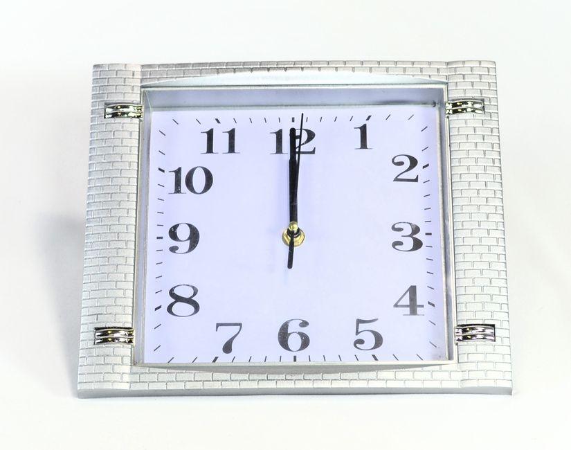 hodiny 25x25cm, čtverec, ozd.rám
